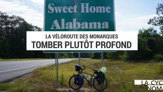 sud des états unis - voyage vélo - cyclotourisme usa - kentucky - alabama - georgie à vélo - la cyclonomade