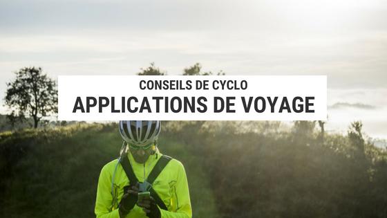 application vélo - application cyclotourisme - application voyage - cyclotourisme - voyage vélo - la cyclonomade