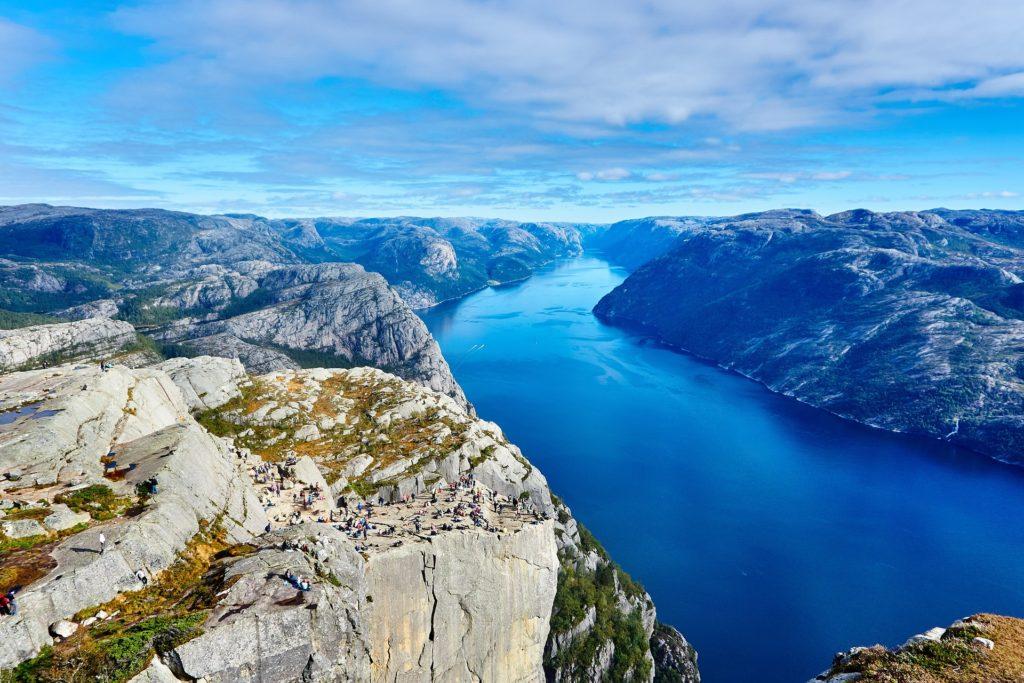 scandinavie à vélo - fjord à vélo - cyclotourisme - la cyclonomade