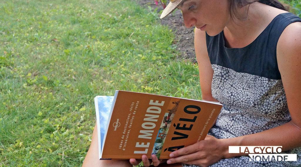 le monde à vélo - livre - voyage - cyclotourisme - la cyclonomade