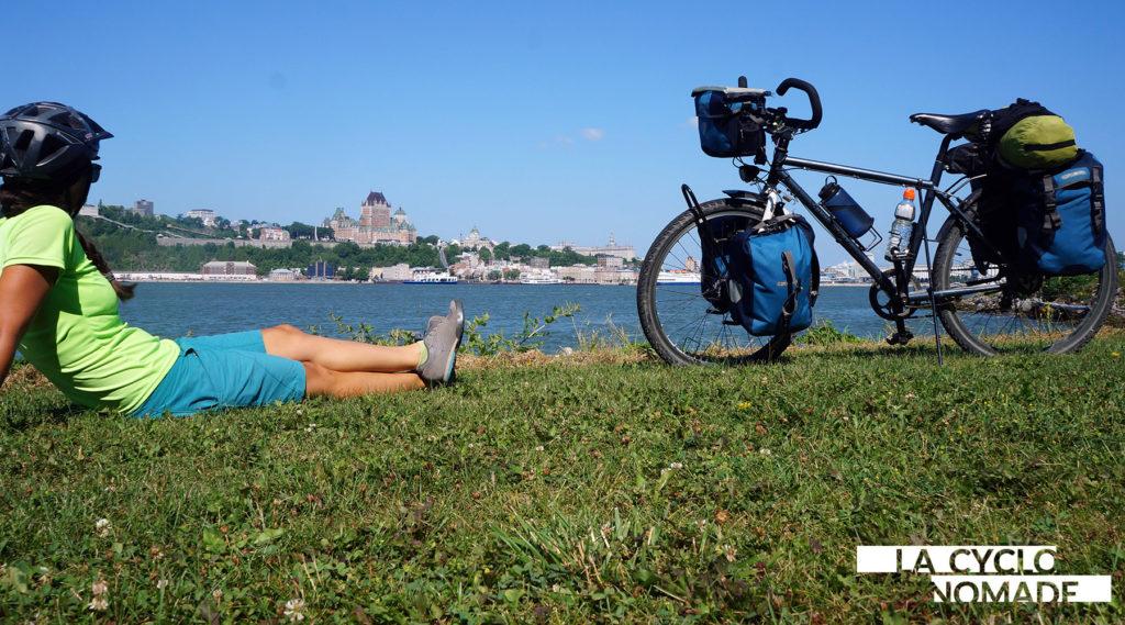 Québec à vélo - véloroute des monarques