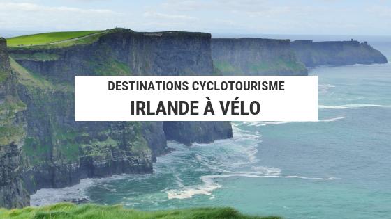 irlande à vélo - cyclotourisme irlande - falaises de moher - cyclotourisme - voyage à vélo - la cyclonomade
