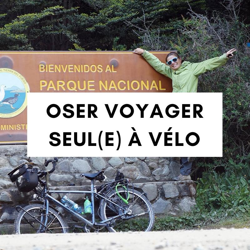conférence cyclotourisme - oser voyager seule à vélo - la cyclonomade