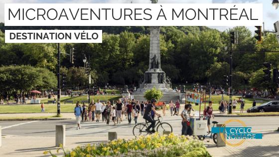 micraventures vélo à montréal - cyclotourisme québec - la cyclonomade - voyage vélo québec