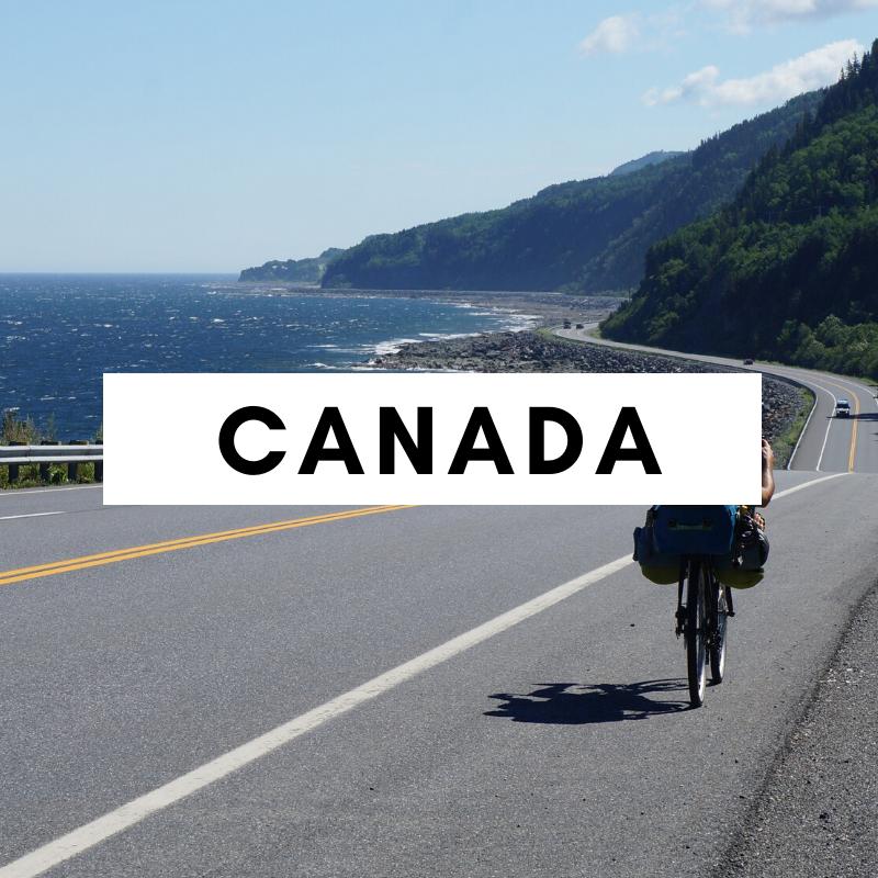 canada à vélo - amérique du nord à vélo - cyclotourisme canada - voyage vélo canada - la cyclonomade