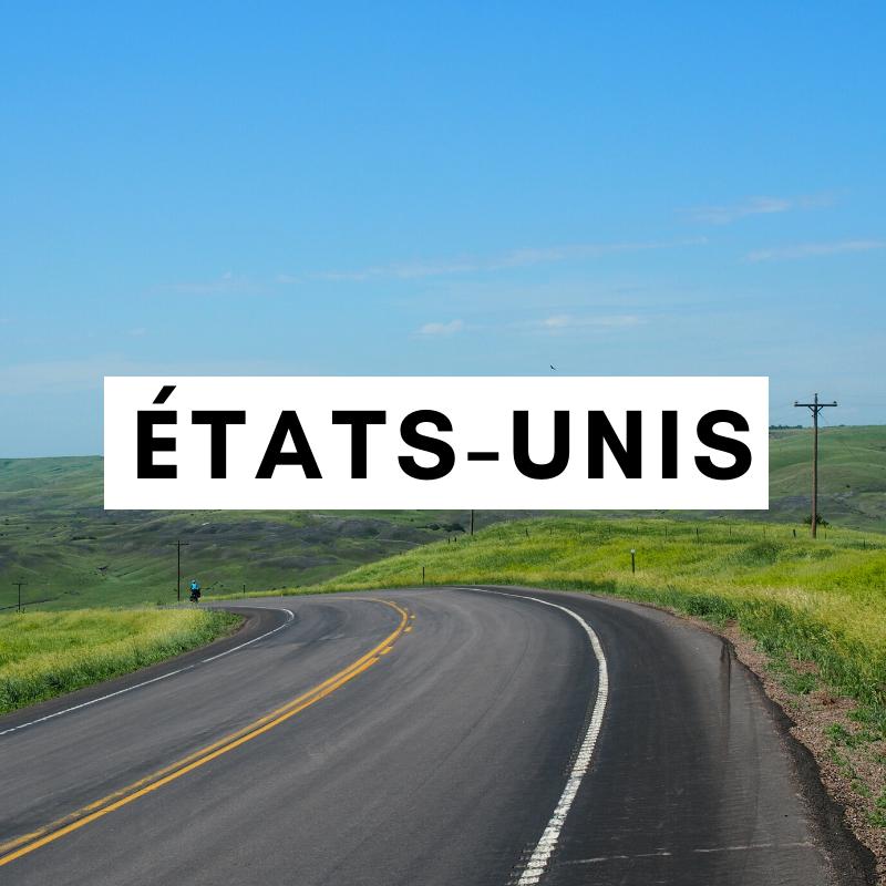 états-unis à vélo - amérique du nord à vélo - cyclotourisme - voyager à vélo