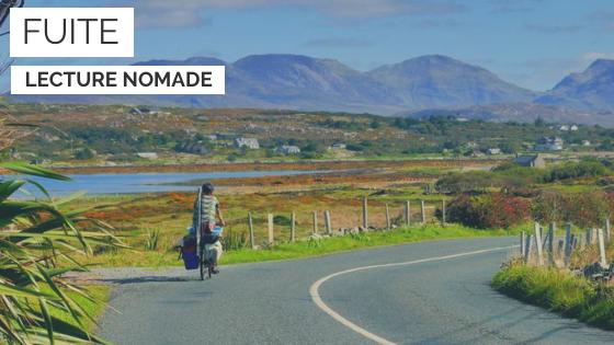 fuite - livre - no mad's land - cyclotourisme - la cyclonomade