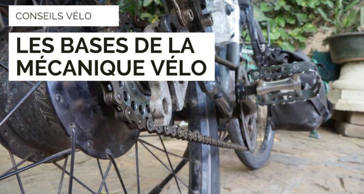 mécanique vélo - cyclotourisme - voyager à vélo - laura la cyclonomade