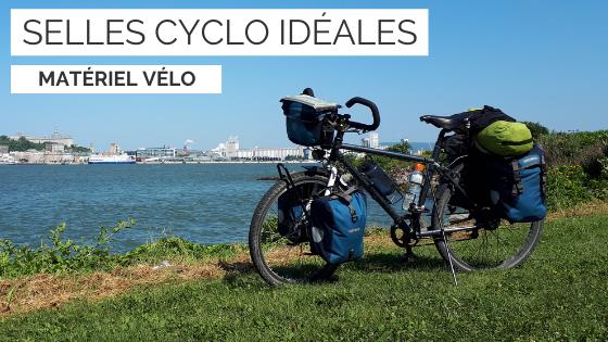 selle cyclotourisme - selle vélo cyclotourisme - selle idéale cyclotourisme - la cyclonomade